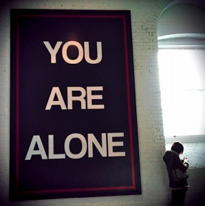 You-Are-Alone